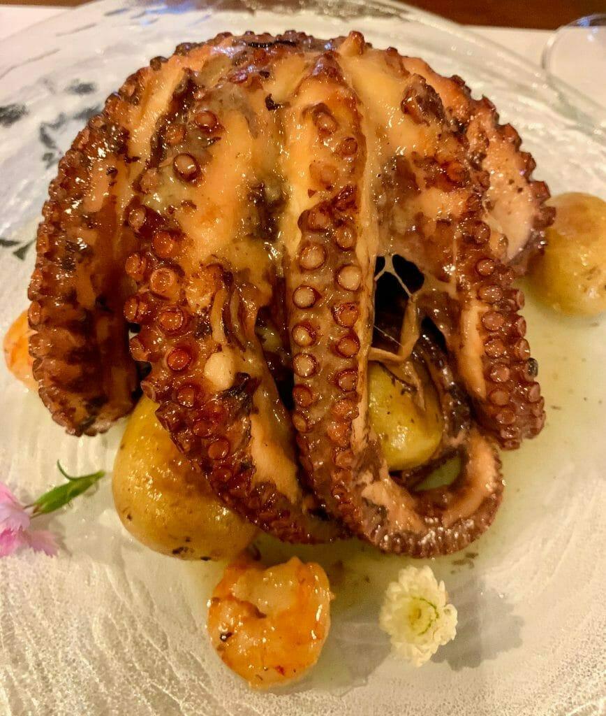 Lisbon Dining Abroad, Octopus
