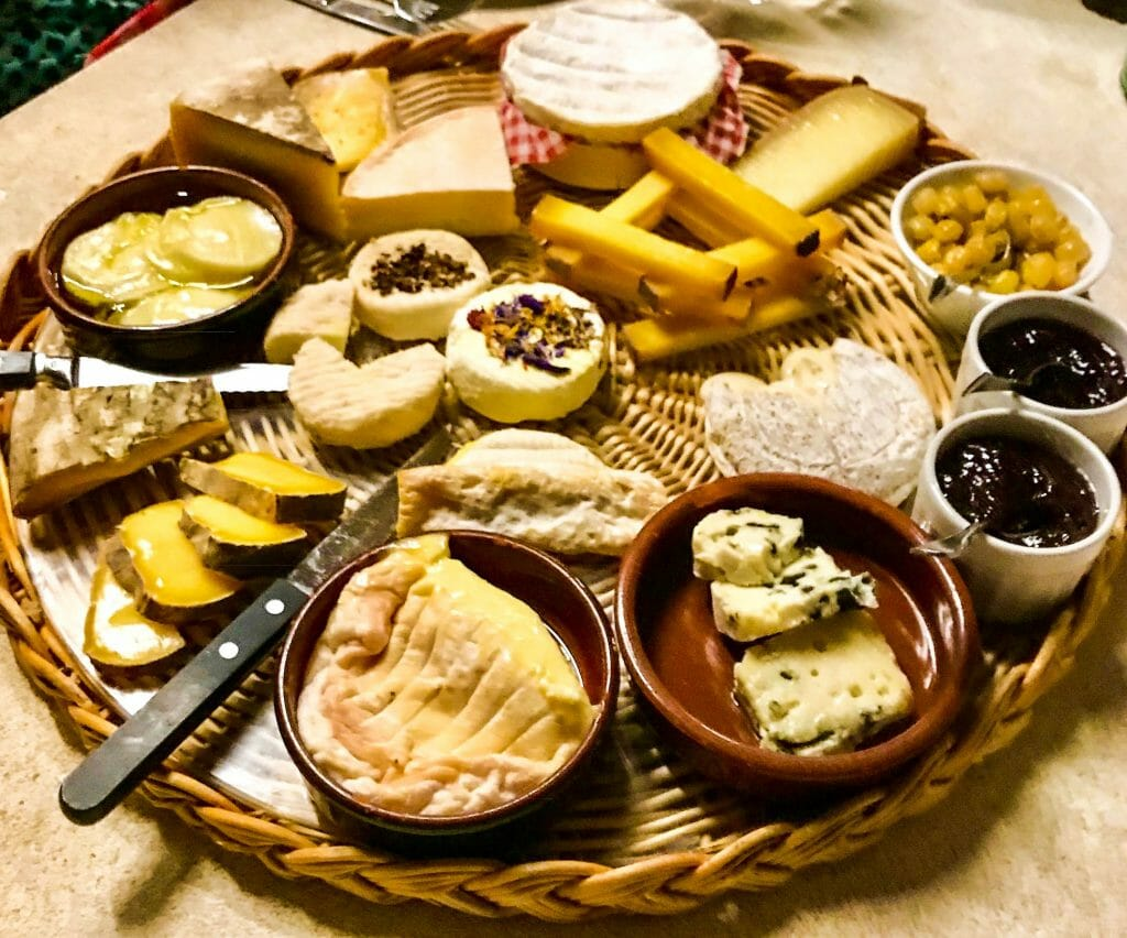 Dining Abroad Delectable French Cheese Board