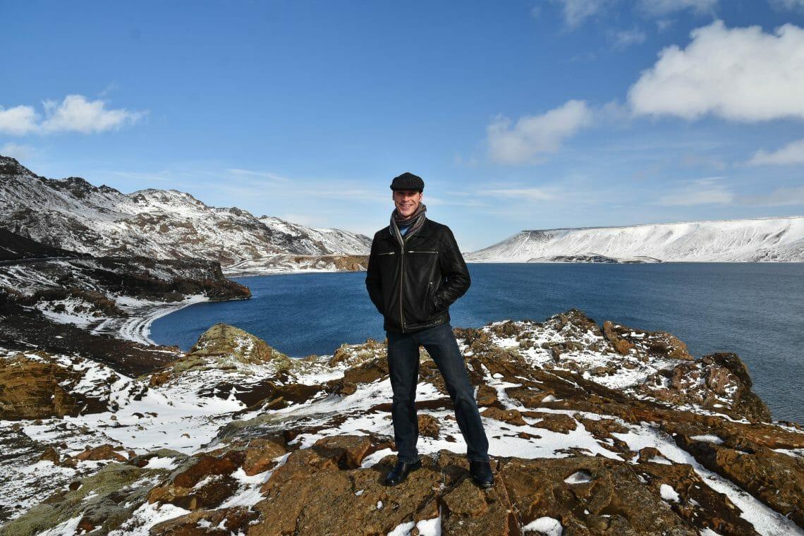 Ryan in Iceland