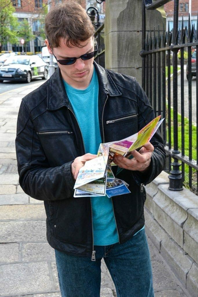 Ryan in Dublin