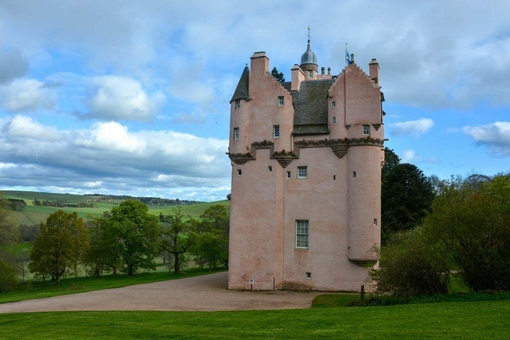 Craigievar Castle Scotland, UK