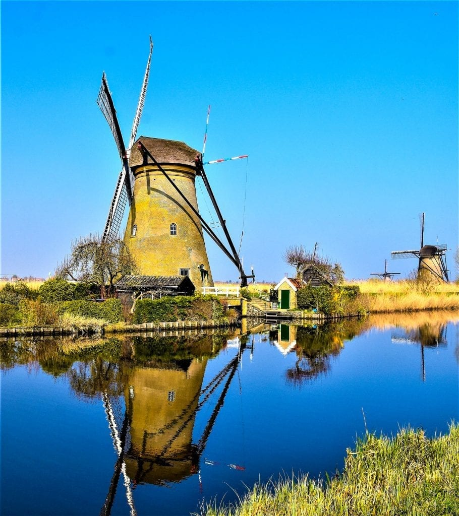 Netherland Windmills Inspiration