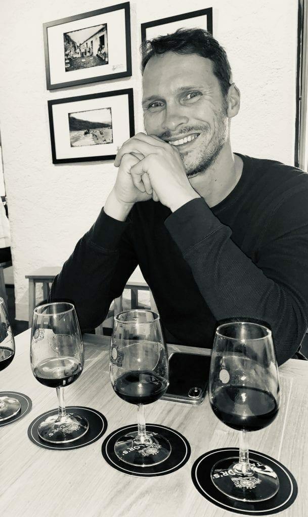 Ryan in Lisbon Port Tasting