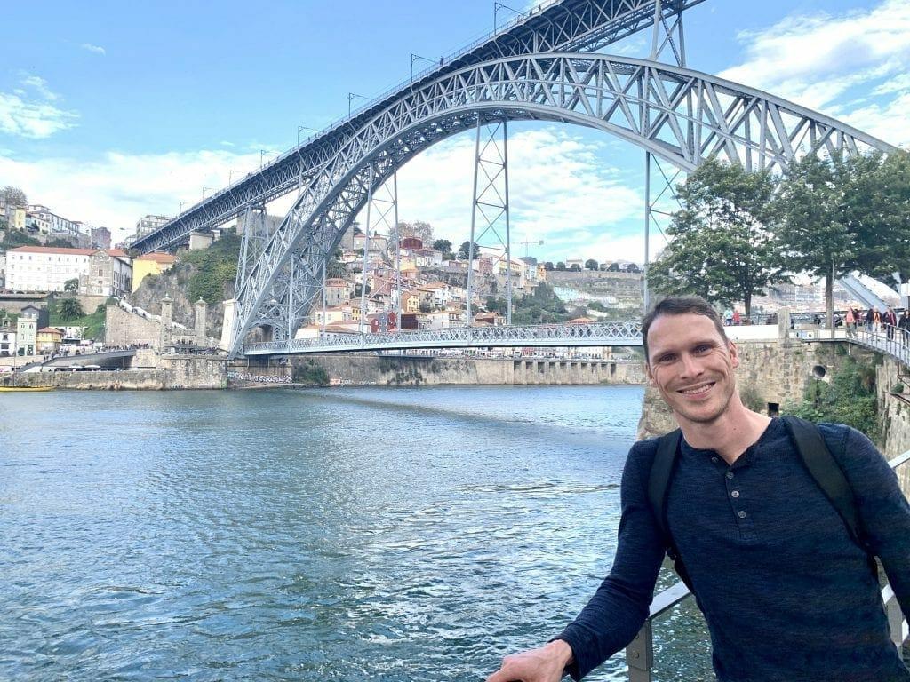 Ryan in Porto, Portugal