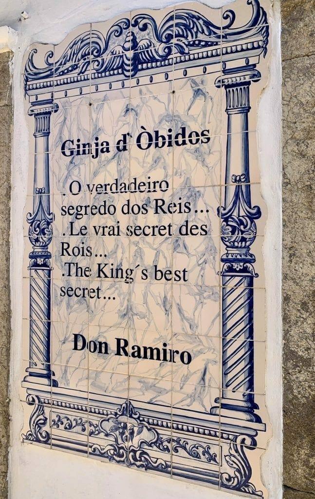 Ginja of Obidos