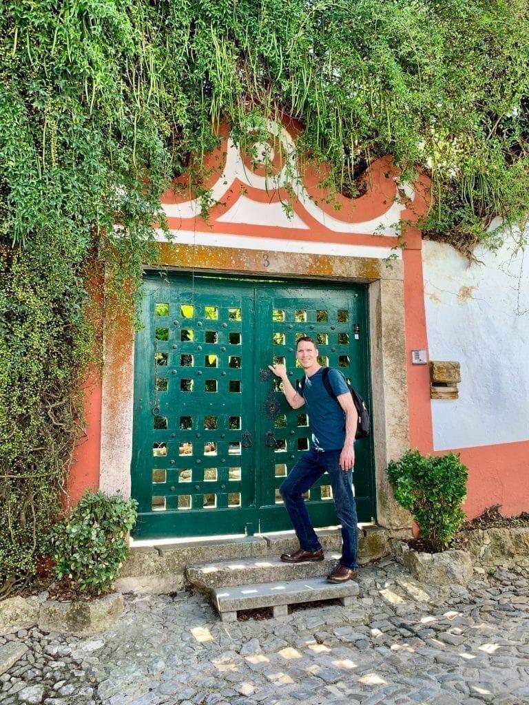 Ryan in Obidos Portugal