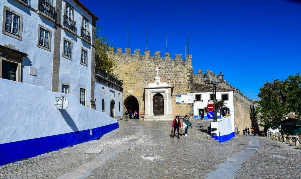 Entry of Obidos