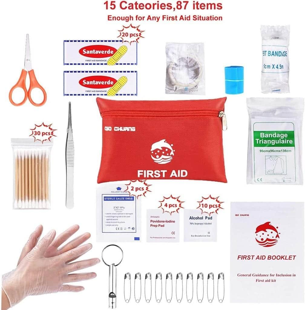 First aid kitMedical Supply Shopping List