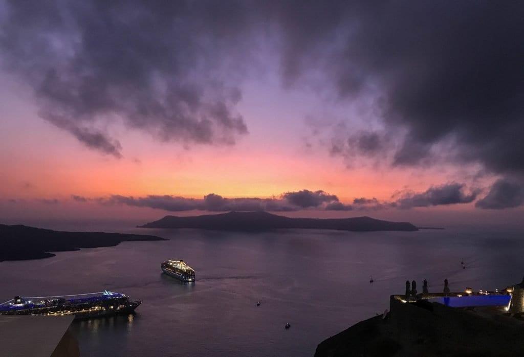 Fira, Santorini Sunset