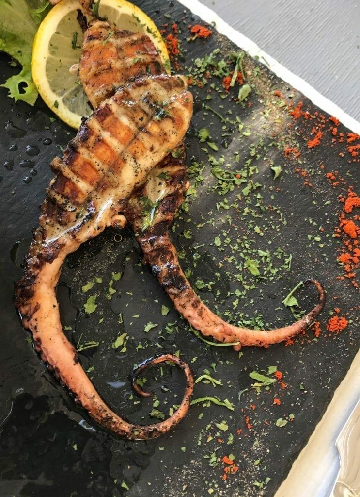 Santorini Octopus