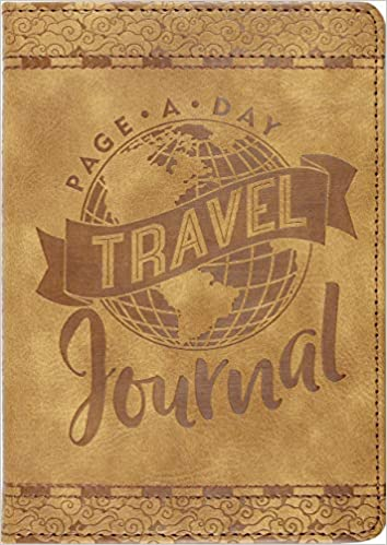 Leather journal Travel gear