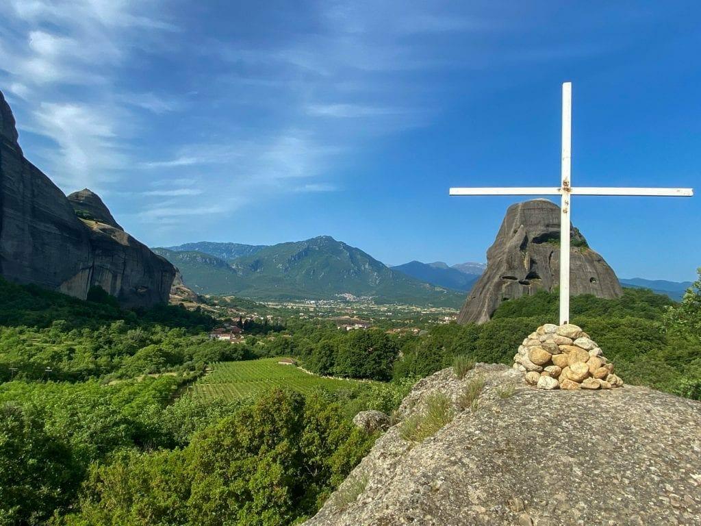 Cross at Meteora Monasteries